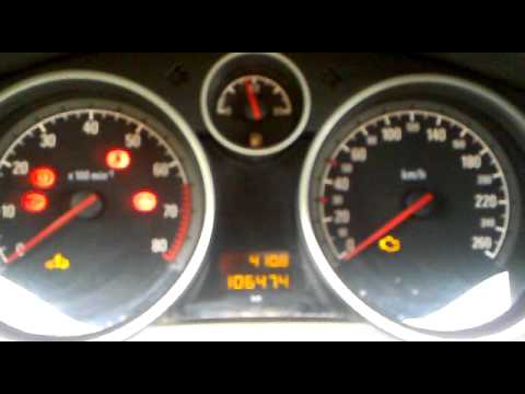 Probl 232 Me D 233 Marrage Opel Astra H Gtc 1 6 Youtube