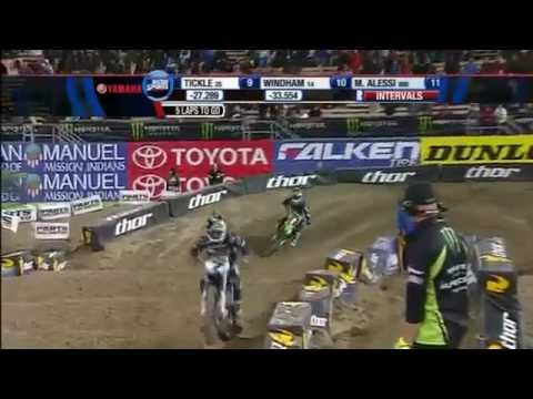 2012 AMA Supercross Monster Energy  Los Angeles 450 Main.