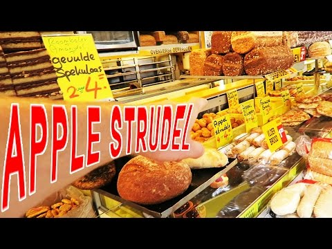 Apple strudel utrecht market - food reviews & living in the netherlands