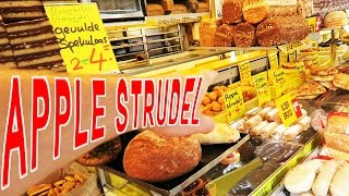 Gambar cover Apple strudel utrecht market - food reviews & living in the netherlands