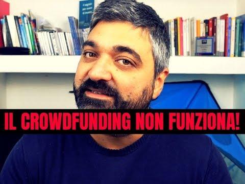 il Crowdfunding NON funziona!