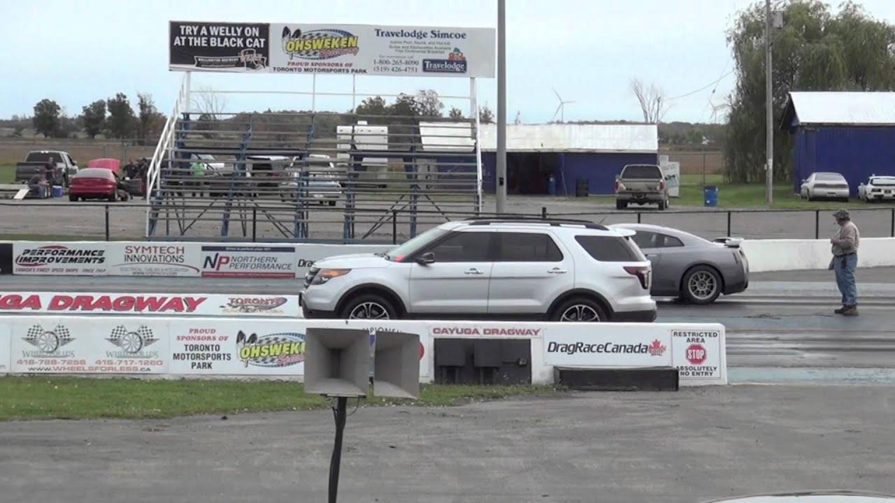 Stock Ford Explorer Sport Vs Modded Nissan Gtr 1 4 Mile