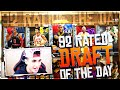 TRYING TO BEAT THE 92 RATED DRAFT OF THE DAY!! MY FIRST 90 RATED - NBA 2K16 MYTEAM DRAFT