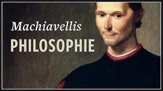 Staatstheorie bei Machiavelli · Politische Philosophie