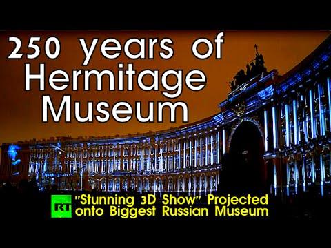 HERMITAGE | 250 Years Of Splendor: Dazzling 3D Show | Hermitage Celebrations
