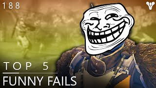 destiny trolled by shaxx top 5 epic fails of the week episode 189