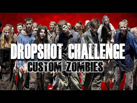 THE DROPSHOT CHALLENGE (Call of Duty Zombies) thumbnail
