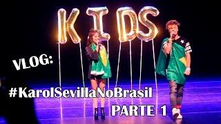 VLOG: Show da Karol Sevilla, Lionel Ferro e Bia Jordão (Parte 1) - W+ Kids Festival