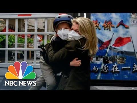 NBC News Correspondent Explains Emotional Reunion With Son After 49 days apart | NBC Nightly News