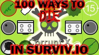 Surviv.io - 100 Ways to Die in Surviv.io