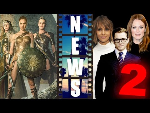 Wonder Woman 2017 Robin Wright as Antiope, Kingsman The Golden Circle - Beyond The Trailer