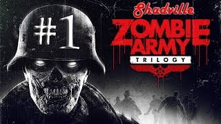 Zombie Army Trilogy (PS4) Прохождение игры #1: Деревня