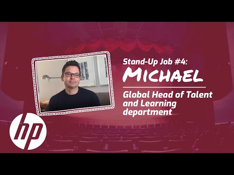 Careers Vlog: Stand-Up Job #4 | Global Head of Talent and Learning Department | HP