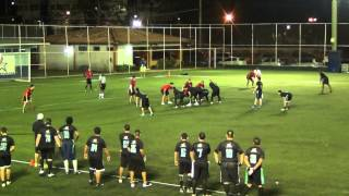 PFL PITBULLS VS RED SHARKS SEMANA 12 2014   2015