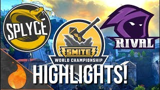 SMITE WORLD CHAMPIONSHIPS HIGHLIGHTS!