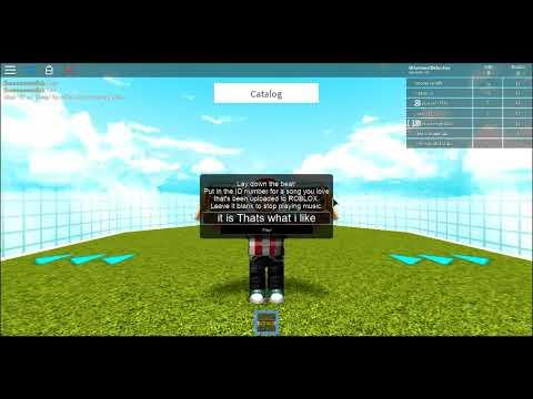 Thats what i like l Roblox id code - YouTube