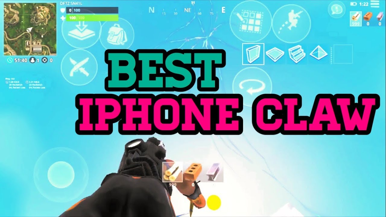 Best 4 Finger Claw For Building And Pump Smg Hybrid Hud Fortnite