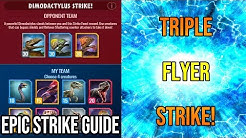 How to Beat the Dimodactylus Epic Strike Event! | Jurassic World Alive 1.7