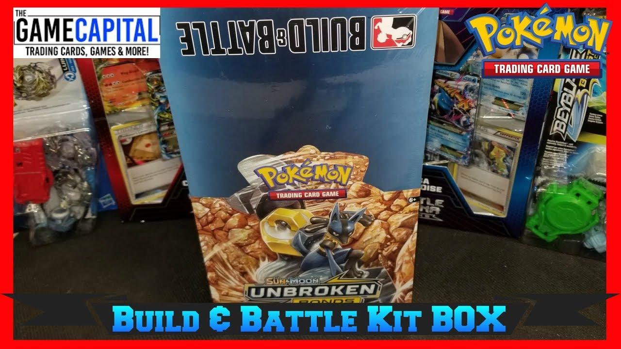 Pokemon TCG Unbroken Bonds Build and Battle Box Case 10 Prerelease Kits