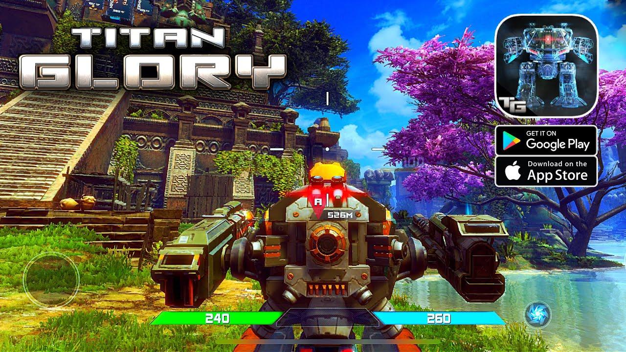 Titan Glory - Mech Combat Gameplay (Android/IOS)