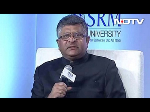 Former Chief Justice Shouldn't Have Cried: Ravi Shankar Prasad On Tussle With Judiciary