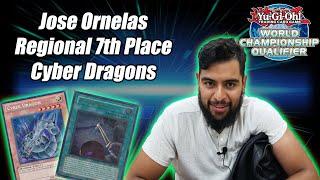 Yu-Gi-Oh! Regional Top 8 - Cyber Dragon ft. Power Bond Deck Profile - Jose Ornelas - Houston, TX 7th