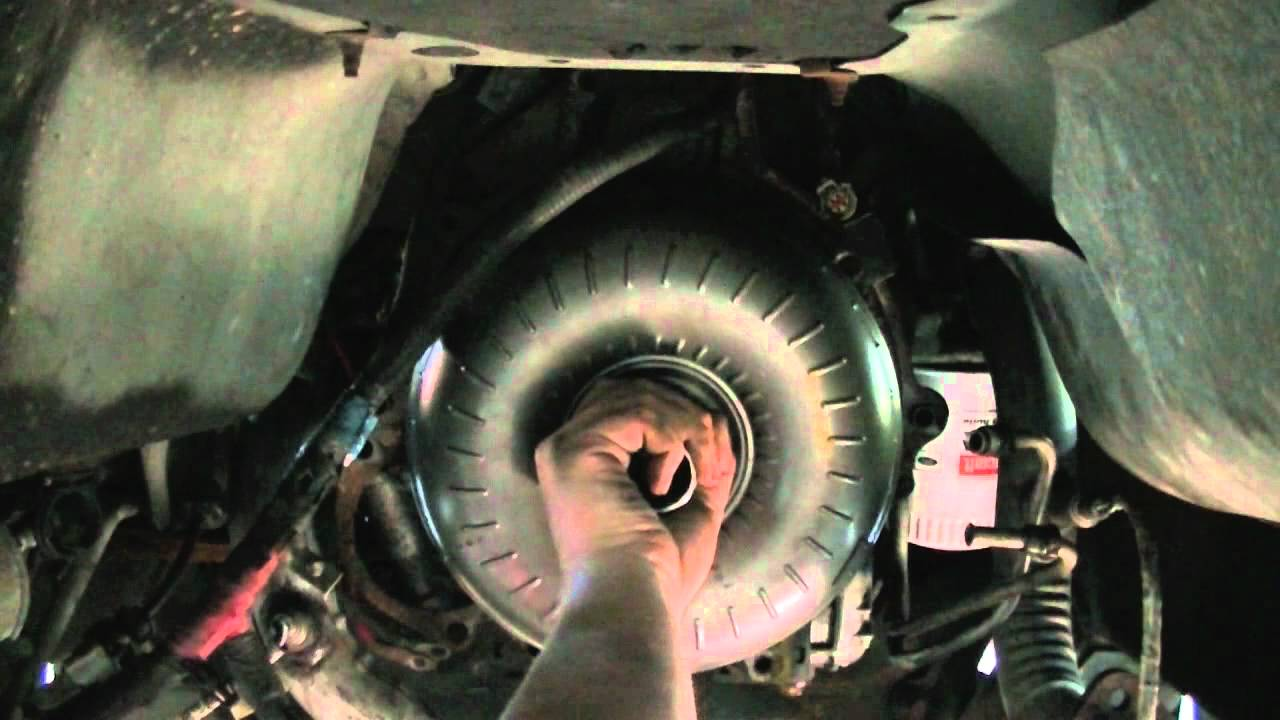 Ford F150 Bolt Pattern >> Ford Explorer Torque Converter and Flex Plate R&R - YouTube
