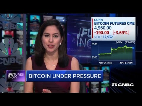 Bitcoin under pressure following Tuesday rally