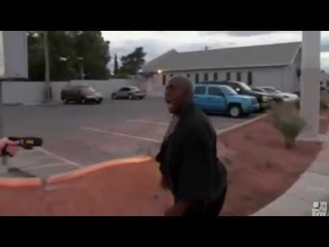 Black Guy Gets Tazed and Takes It Like a Boss