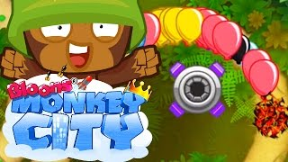 Bloons Monkey City Mobile - Good beginner strategies
