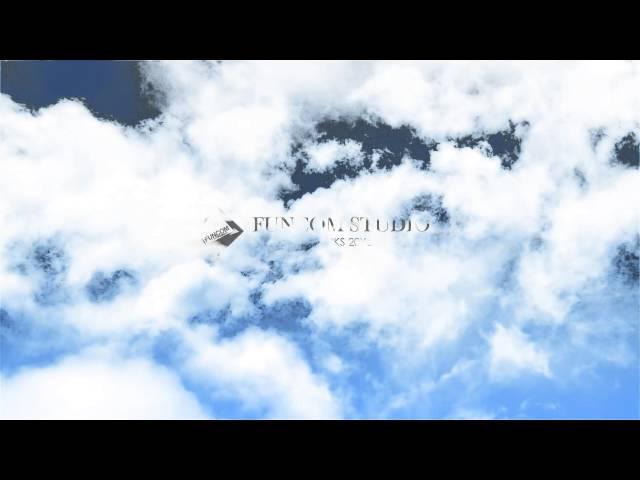 펀컴 로고애니메이션 Bright Clouds Version