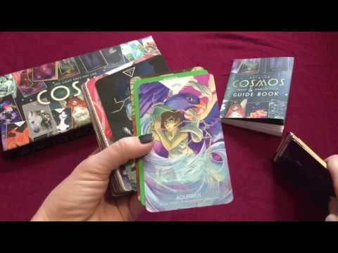 Cosmos Tarot Oracle 🌟 Full Flipthrough First