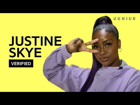 """Justine Skye """"Don't Think About It"""" Official Lyrics & Meaning   Verified"""