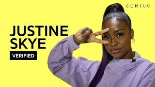 "Justine Skye ""Don't Think About It"" Official Lyrics & Meaning 