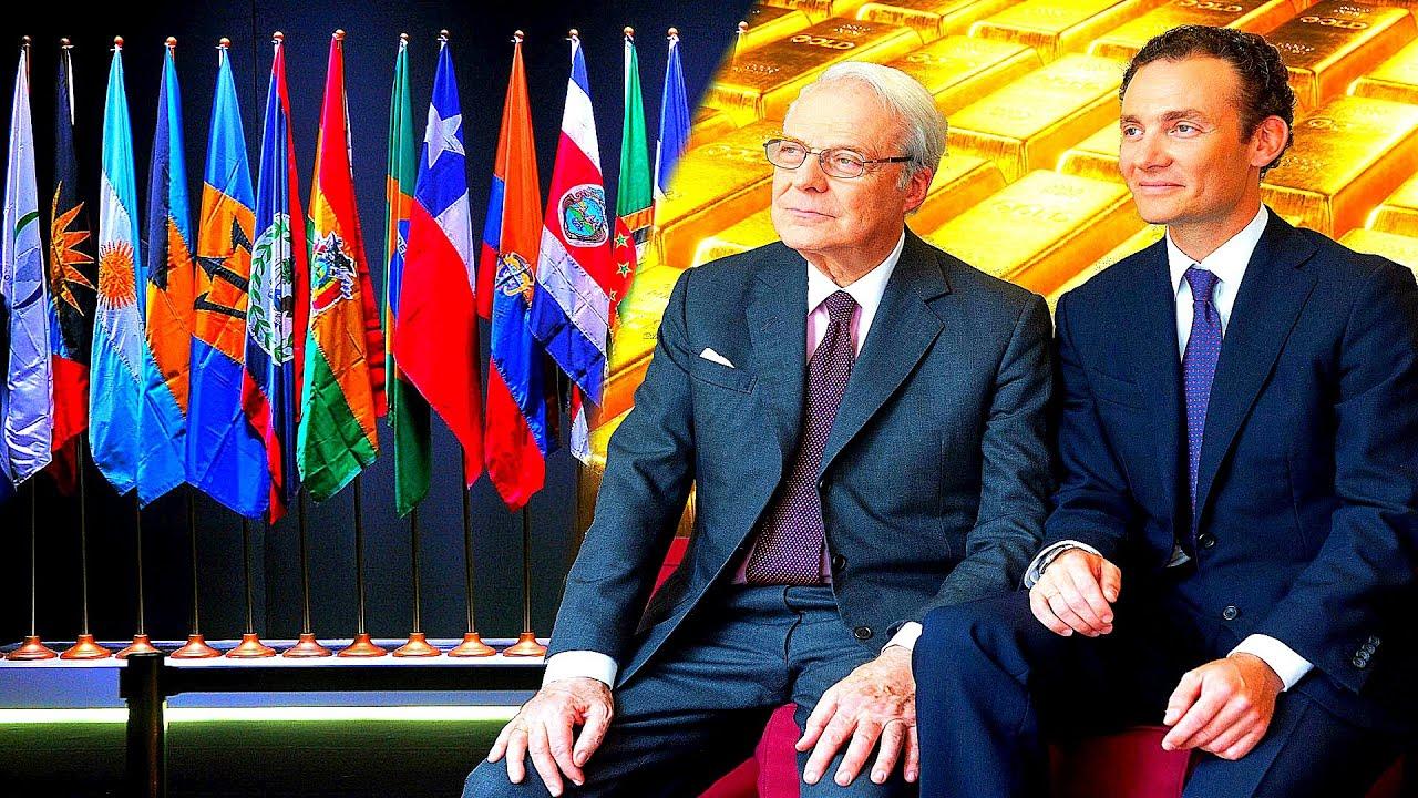 Las TONELADAS de ORO que los Rothschild tienen de Latinoamerica
