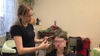 Наращивание на короткий волос - показываем на реальном примере!