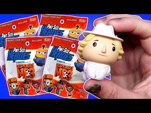 Despicable Me 3 Funko Pint Size Heroes Blind Bag Opening! ~ Pocket.watch Jr.