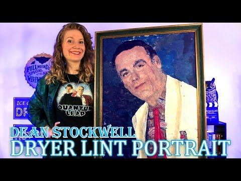 Dean Stockwell Dryer Lint Portrait