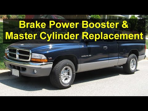 How to replace the brake booster and master cylinder on a Dodge Dakota – VOTD