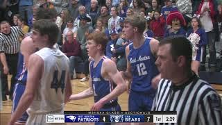 Boys Sectional Basketball | Ava vs East Newton | 3-9-21