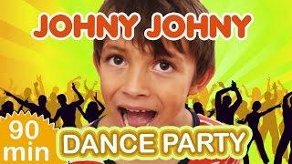 Johny Johny Yes Papa Dance Party