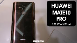 New  'No Headphone Jack' Club Member — Huawei Mate 10 Pro  [CES 2018 Special]
