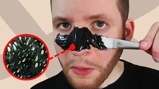 CRASH TEST : masque anti POINTS NOIRS