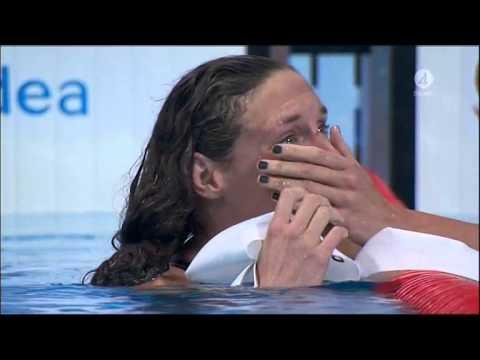 Här slår Hosszu världsrekord och tar VM-guld på 200 meter medley! - TV4 Sport