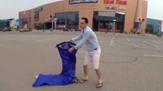 Видео обзор/инструкция надувной гамак Lamzac