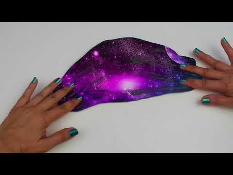 Black Screen Galaxy Slime Yaptım !! GALAXY SLIME  Bidünya Oyuncak