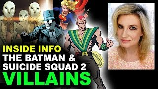 The Batman Movie Court of Owls, Suicide Squad 2 Amazo - DCEU Villains