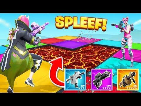 SPLEEF Your FRIENDS For Loot in Fortnite!