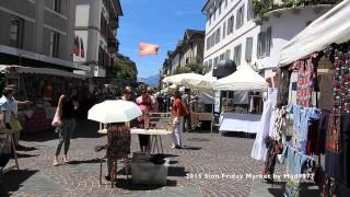 🌀  Sion - Friday Market 2015