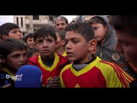 ماراثون رياضي للأطفال في معرة النعمان بريف إدلب  - نشر قبل 6 ساعة